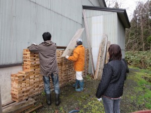 藤里町体験カリキュラム12月